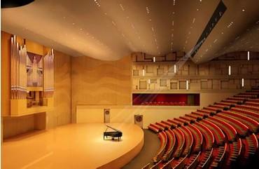 音乐厅室内装修工程